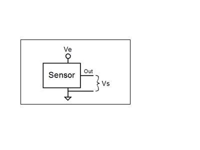 比率传感器和ADC配合,可以提高系统精度