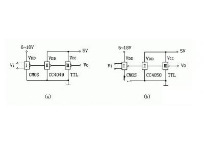 CMOS集成电路驱动其它器件