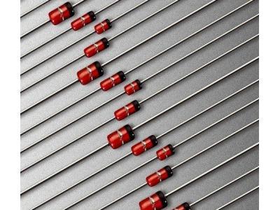 稳压二极管、1n4007二极管的正负极辨别方法
