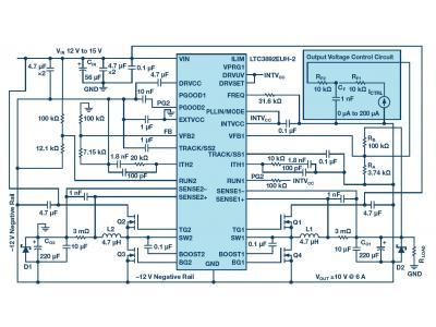 双极性、单路输出、可调节电源的设计思路分析
