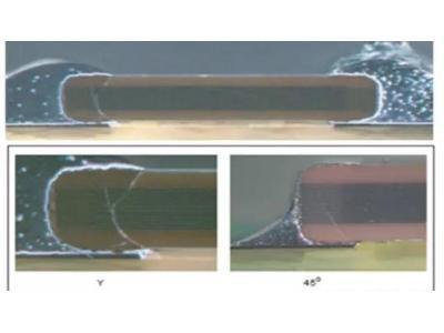 电路元件中不同裂纹引发原因分析