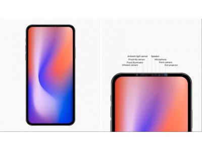 下一代iPhone长这个样子:6.7英寸无刘海,有望搭载屏下指纹识别