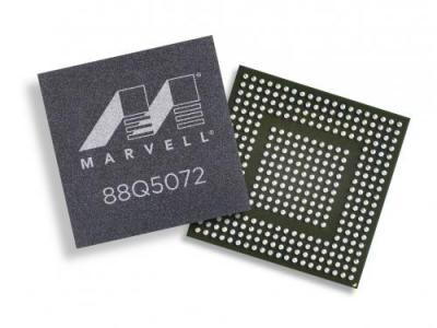 Marvell 发布多端口多速率千兆车载以太网交换机芯