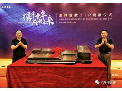 博弈天平发生变化,CTP 电池包将变革新能源?