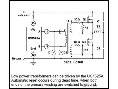 变压器驱动半桥电路结构详解
