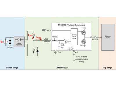 低静态电流电压监控器的妙用之漏电保护电路中的应用