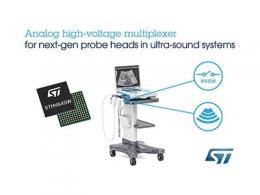 意法半导体推出64通道高压开关IC,助力医疗工业影像系统提高性能和便携性