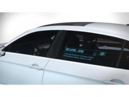 无人驾驶汽车需要透明窗口显示