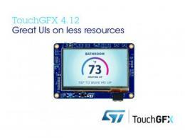 意法半导体更新TouchGFX软件包
