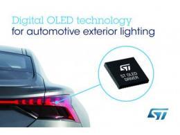 意法半导体与奥迪合作,开发及提供下一代汽车外部照明解决方案