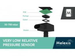 Melexis 推出适用于 ICE 和混合动力汽车 EVAP 系统的独有相对压力传感器 IC