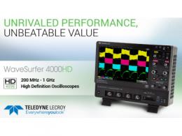 力科发布经济型高精度示波器WaveSurfer 4000HD
