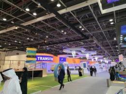 2019年中东迪拜电子通信展使用逾1000平米的艾比森LED