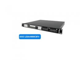 铵泰克发布国内首款采用龙芯3A4000的多网口网络安全硬件平台ANS-LS3A4000C6F4