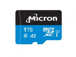 美光率先推出用于云端视频监控的 1TB 工业级 microSD 卡