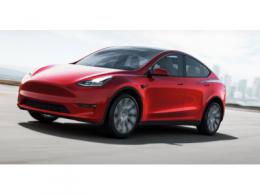 特斯拉纯电动SUV Model Y原型车曝光,或于明年一季度交付