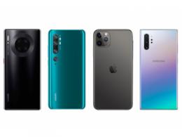 仅供参考!DxOMark 公布2019年5款最佳拍照手机