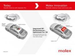 Molex天线与远程控制单元融合产品荣获  美国《自动驾驶汽车技术》杂志编辑评选大奖