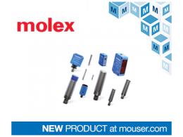 贸泽备货Molex Contrinex工业4.0感应和光电传感器