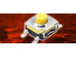 C&K 推出適用于特定柔軟觸覺需求的安靜、長行程輕觸開關