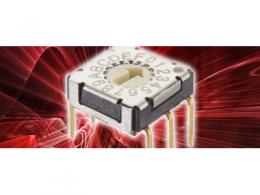 C&K 推出 RTF — 用于工业、消费和医疗设备的业界首款最轻巧超薄旋转拨码开关