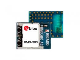 u-blox 在 BMD 产品组合中增加超小型高性能蓝牙 5.0 模块