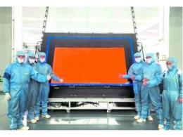 中电熊猫 8K GOA 面板点亮,国内显示产业影响深远