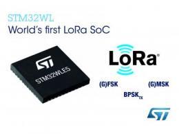 意法半导体推出STM32系统芯片,加快LoRa® IoT智能设备开发
