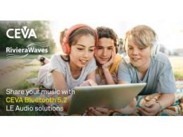 CEVA支持低功耗蓝牙音频  加快真正无线立体声耳塞产品开发
