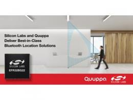 Silicon Labs携手Quuppa提供行业领先的蓝牙定位解决方案