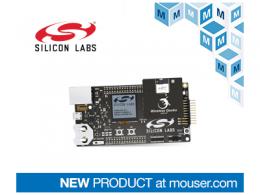 贸泽电子备货用于网状网络设计的 Silicon Labs xGM210P无线Gecko模块入门套件