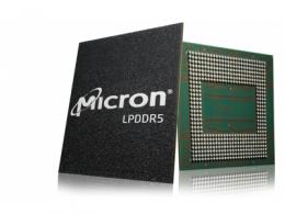 美光交付全球首款量产应用于高端智能手机市场的  低功耗DDR5 DRAM 芯片
