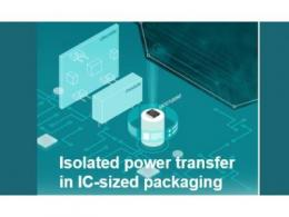 德州仪器EMI优化集成变压器技术将电力传输隔离小型化为IC尺寸封装