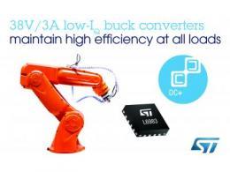 意法半导体推出针对智能工业应用的高集成度、高灵活性的同步整流DC/DC转换器