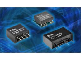 Flex电源模块推出面向工业应用的微型DC-DC转换器