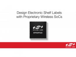 新型无线SoC助力零售、商业和工业物联网市场数字化转型