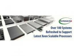美超微采用最新第二代英特尔至强可扩展处理器来优化X11系统,将其性能提升36%