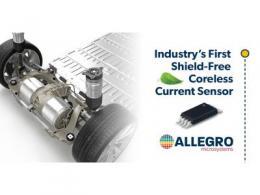 Allegro发布业界首款独立式无磁芯电流传感器