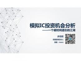 模拟IC投资机会分析