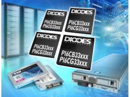 Diodes 公司推出的PCIe 5.0 时钟发生器与缓冲器为服务器、IPC、网络、数据中心等应用提供前向兼容性