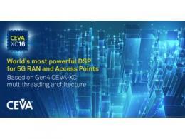 CEVA发布世界上功能最强大的DSP架构