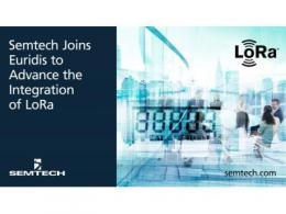 Semtech加入Euridis协会,促进LoRa器件与领先的公用事业标准的集成