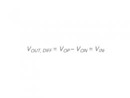 信号链中的单端信号如何转换为差分信号的电路模块?