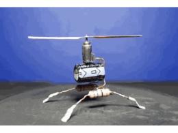 微型直升飞机电子模型