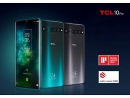 TCL 10 Pro手机和AC1200 WiFi路由器斩获国际设计大奖