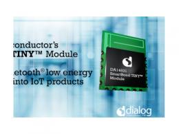 Dialog推出SmartBond TINY模块,助力加速IoT开发