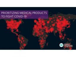 Maxim Integrated加快生产基础医疗器件,全力支持新冠疫情全球防控