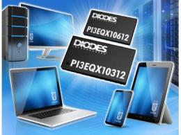 USB Type-C 线性Mux/DeMux ReDriver 内建 Diodes Incorporated USB-C