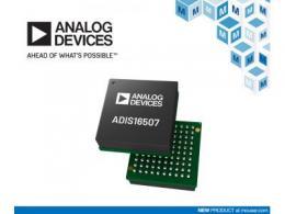 贸泽电子开售Analog Devices ADIS16507精密MEMS惯性测量单元