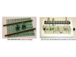 如何解决该棘手问题:在模拟板上对超密脚距的微封装芯片做实验